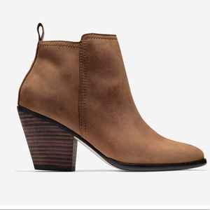 Cole Haan Chester Booties 6.5 Nubuck Leather